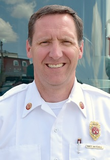 Asst. Chief Matt Mitchell