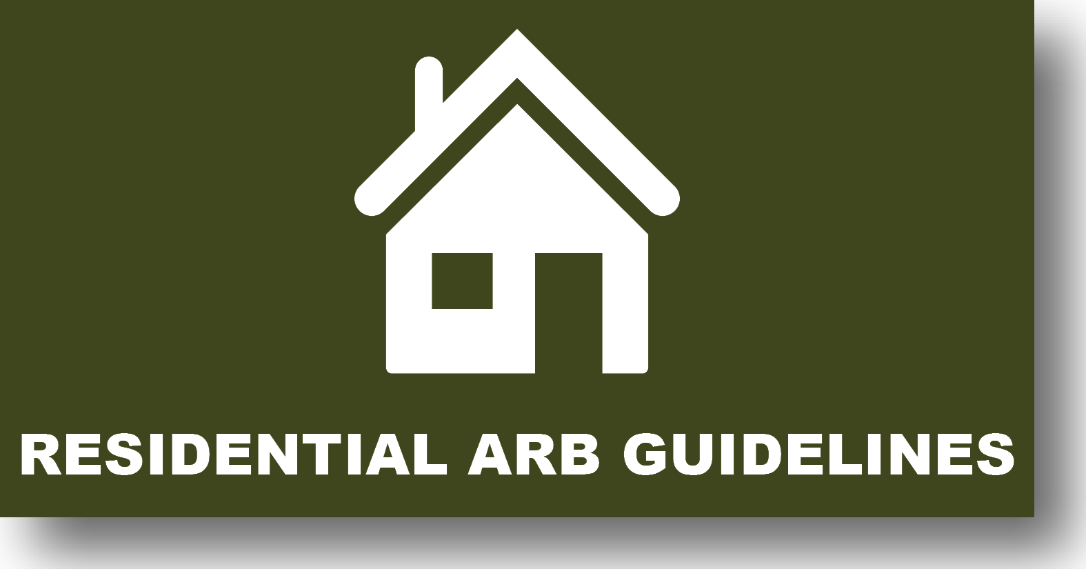 Residential ARB Guidelines