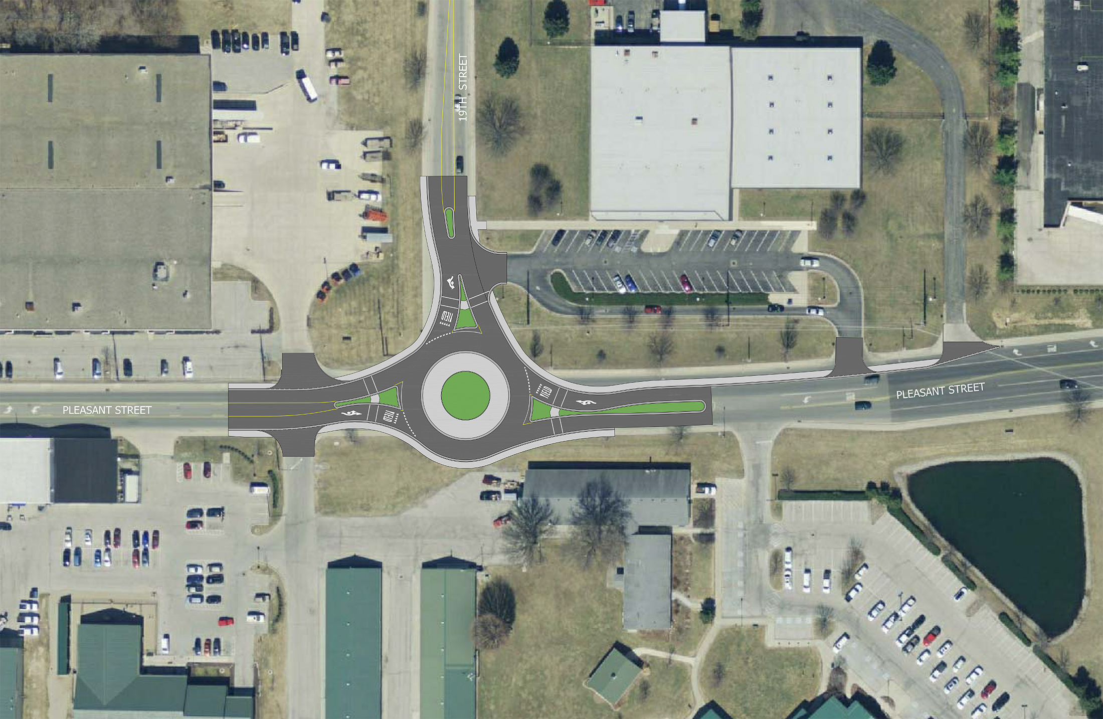 Document Center Pleasant And 19th Streets Roundabout Construction To Begin Next Week City Of Noblesville Indiana