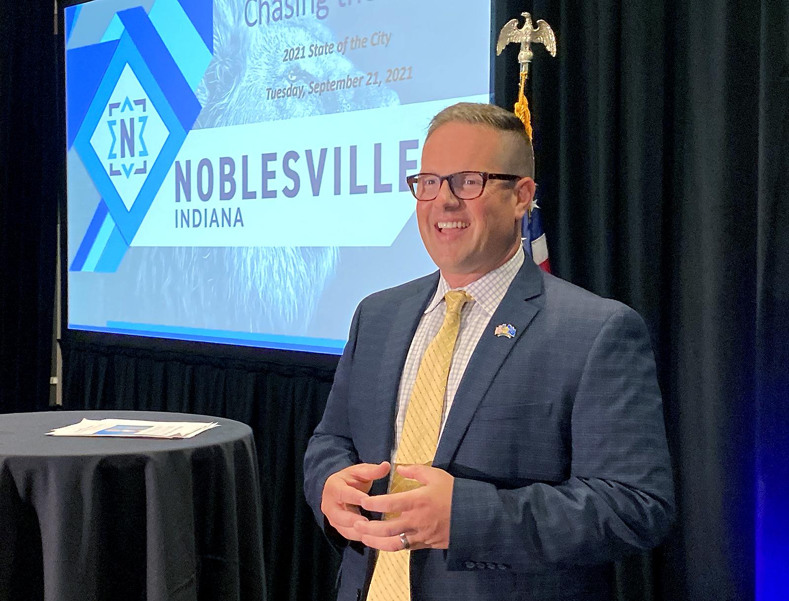 Noblesville Mayor Jensen Delivers Second 'State of the City' Address