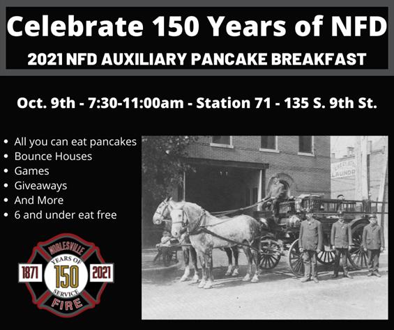 2021 NFD Auxiliary Pancake Breakfast