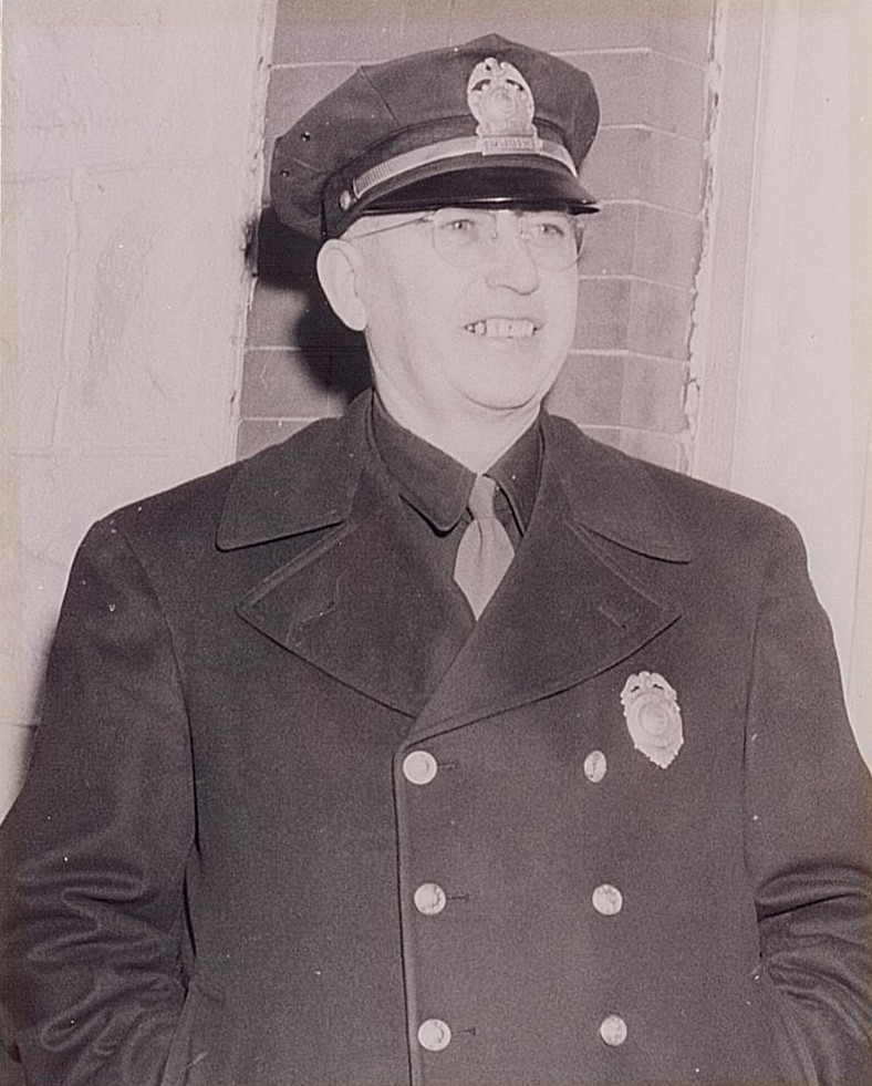 Chief of Police Ernest Haught
