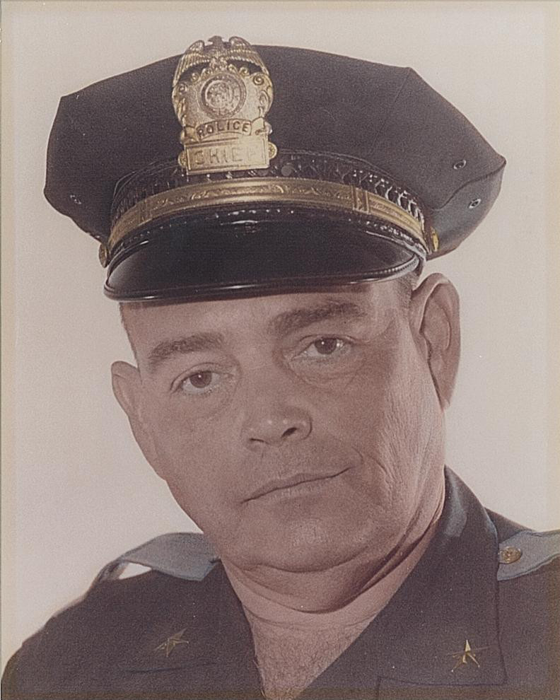 Chief of Police Ralph K. McMillan